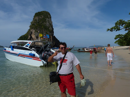 4 Islands Tour: am debarcat pe Railay