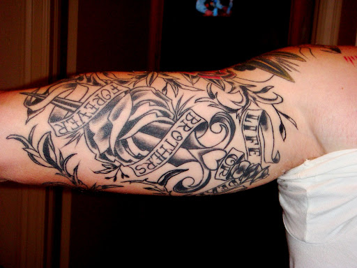 Brothers forever tattoo the image kid for Tattoo for dead brother