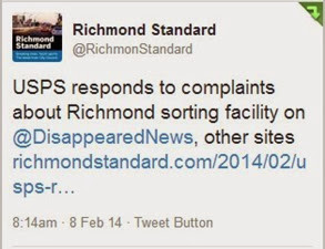 Richmond Standard tweet