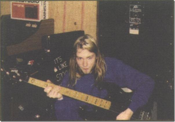 Raras fotografias de Kurt Kobain (9)