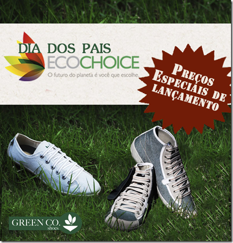 eco choice green co sapatos ecologicos sustentaveis moda