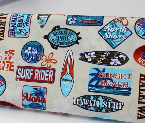 Surfing fabric
