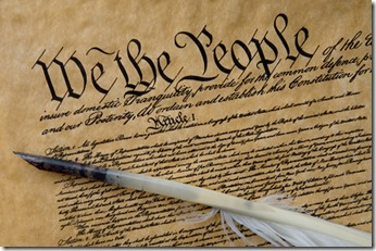 Photo of the Constitution of the United States of America. A feather quill is included in the photo.The Constitution of the United States is the supreme law of the United States of America and is the oldest codified written national constitution still in force. It was completed on September 17, 1787.