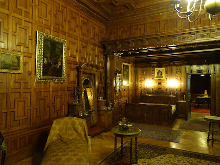 Dormitor Rege Carol I din Peles