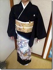 黒留袖の出張着付け (2)