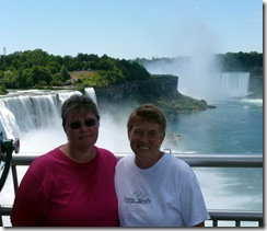 After Maid of the Mist at Niagara Falls NY