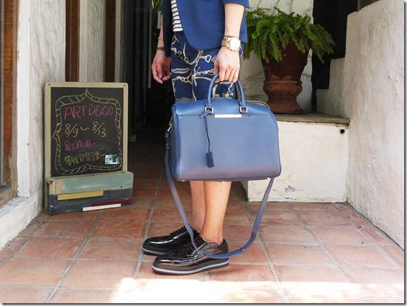 Wei's Stripe Look-dresscode bag-prada shoes2