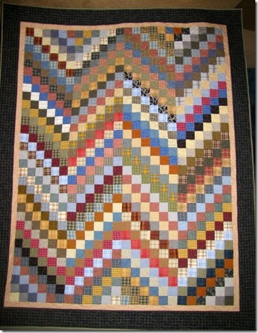 Plaid bargello