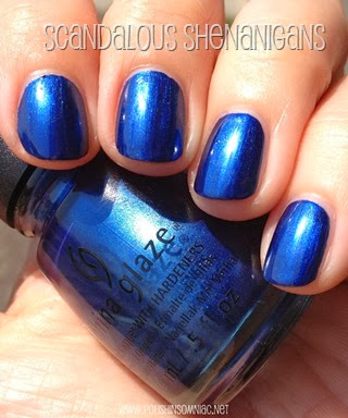 China Glaze Scandalous Shenanigans