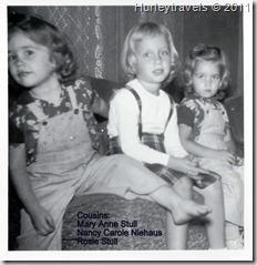 1957 Stull and Niehaus cousins