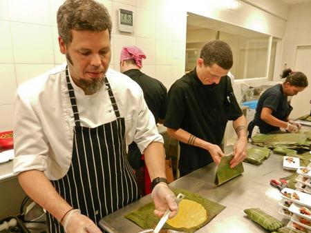 Francisco Abnenate y Erick Cabrera, chef de Cocina Emocional