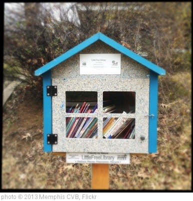 'Little Free Library, Carr Ave.' photo (c) 2013, Memphis CVB - license: http://creativecommons.org/licenses/by-nd/2.0/