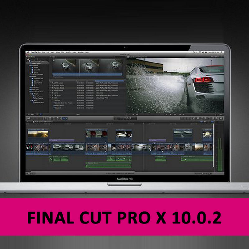 Final Cut Pro X 10.0.2 for Mac OS X
