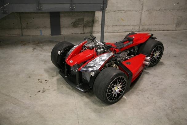 gambar motosikal enjin ferrari