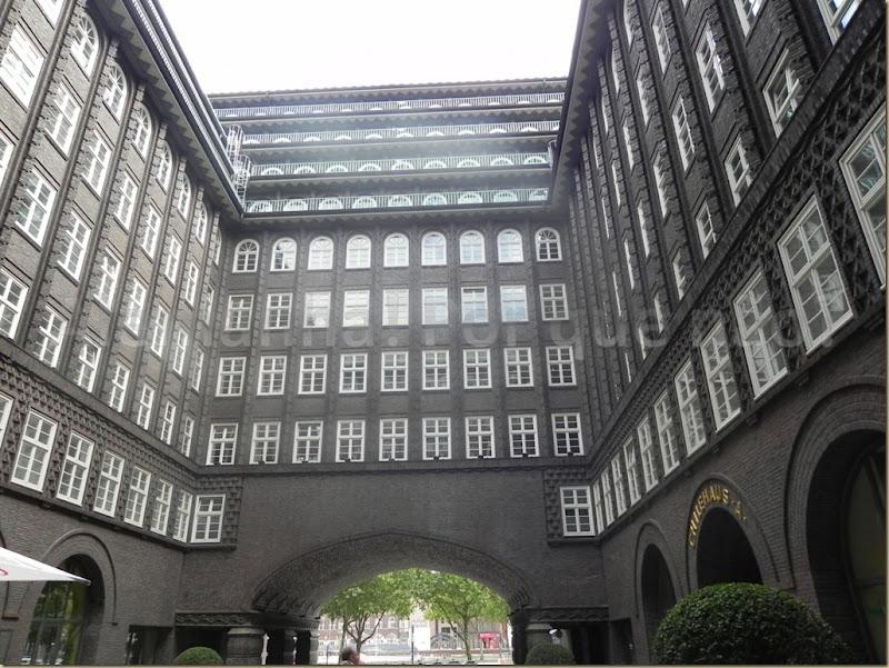 A impressionante Chilehaus, construída em 1922.