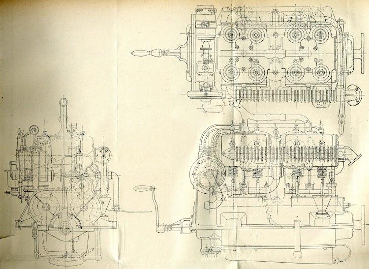 Planos de los motores de los botes del GIRALDA. REVISTA GENERAL DE MARINA. Febrero 1908.jpg