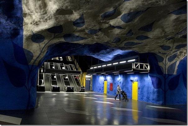 مترو ستوكهولم السويد