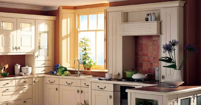 Country kitchen designs casual cottage for Casual kitchen design ideas