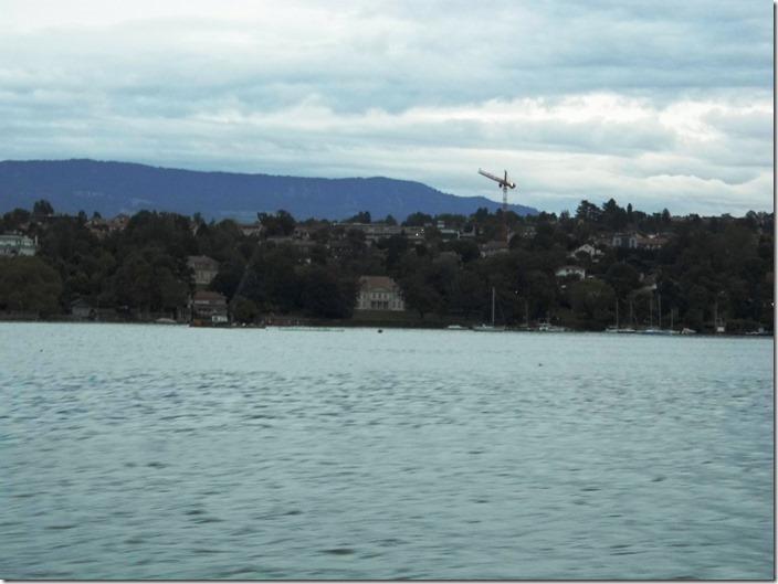 Leman lake Erasmus boat trip