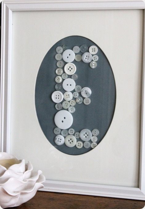 diy baby shower button art