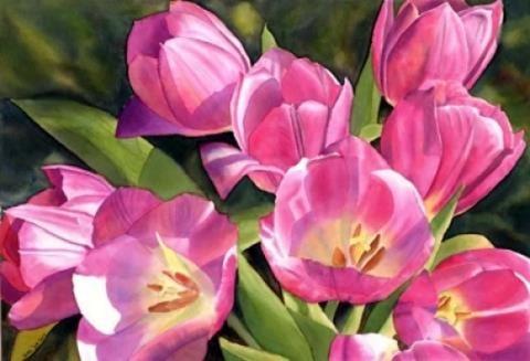 amapolas-rosas-pintura-flores