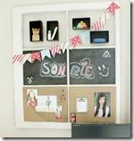 Diy -old window memo board