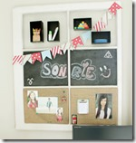 Diy -old window memo board