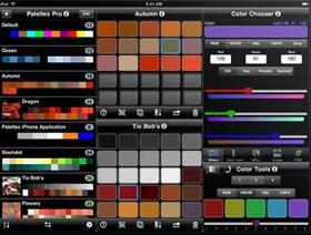 Palettes app