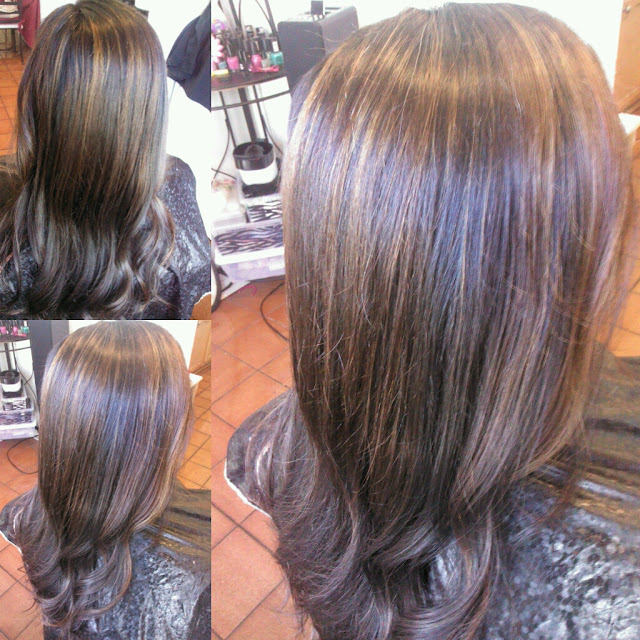 Healthy Hair Is Beautiful Hair..: Copper and Caramel lowlights