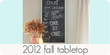 2012 fall tabletop