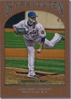 2011 Gypsy Queen Santana Framed