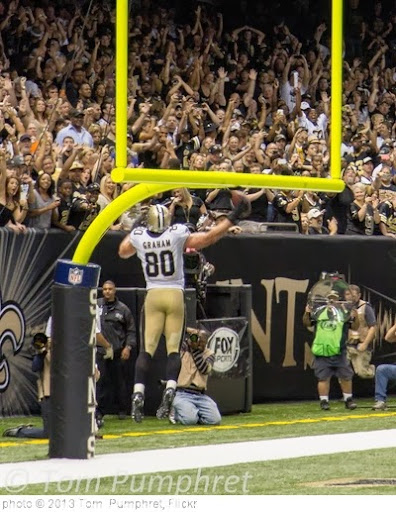 'Jimmy Graham  NFC Offensive Player of the Week 09/25/2013' photo (c) 2013, Tom  Pumphret - license: http://creativecommons.org/licenses/by-nd/2.0/