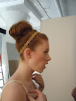 I loved this full top knot!