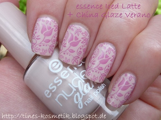 essence Iced Latte Stamping 3