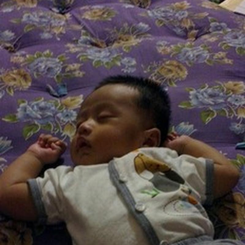 Qhaliff tidur ..