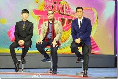 2014.11.16 Eddie Peng during Rise of the Legend - 彭于晏 黃飛鴻之英雄有夢  娛樂夢工廠 - 訪問 02