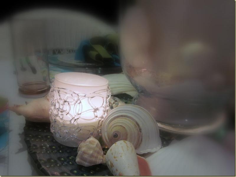 soft focus candle
