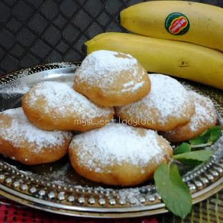 banana doughnut