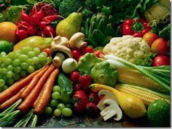 sayur warna warni