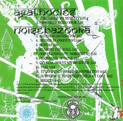 Agathocles_&_Noisebazooka_Good_Lord!_Look_What_They've_Done_To_Our_Government_(Split_CD)_back