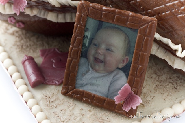 rustikk dåpskake gammelrosa jente dåp IMG_6374