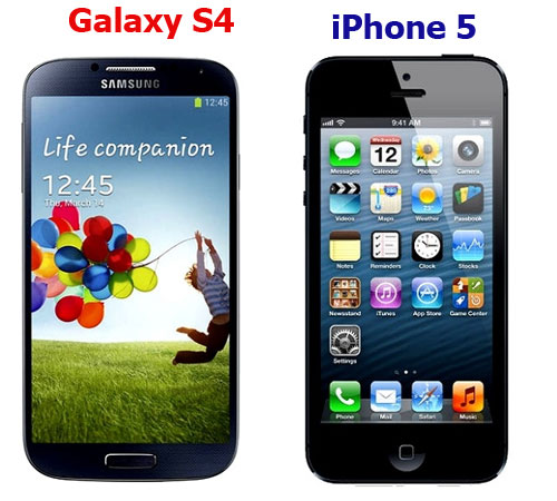 galaxy s4 samsung iphone 5 apple teste superior android Galaxy S4 da Samsung tem desempenho superior ao iPhone 5 da Apple