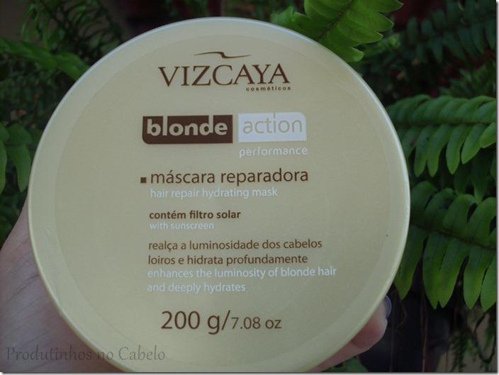 Testei Vizcaya blonde action- Mascara reparadora