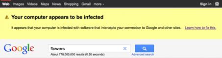Google te avisará si tienes cierto tipo de malware en tu equipo