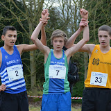 BU15 Yorkshire XC 2013 champs