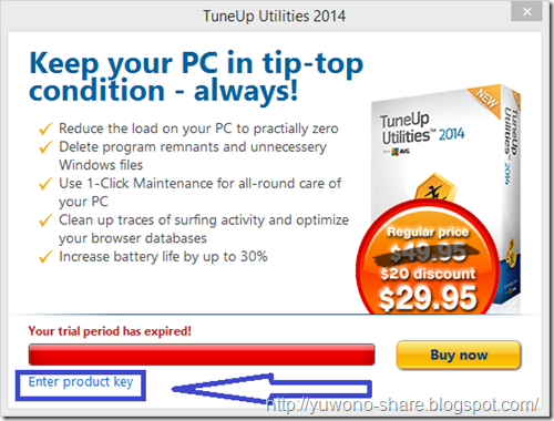 TuneUp Utilities 2014 Serial Number 5