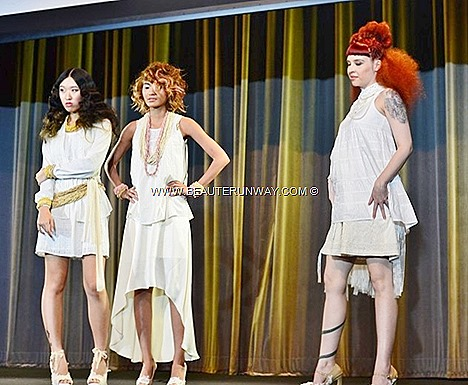 AVEDA CATWALKS FOR WATER WITH URBANHAIR BY GINRICH HAIR STYLISTS SALON SINGAPOR fashion hair style runway look london paris milan creative directos artistic colours trends key  model lookbook hair show presentation trendy styles