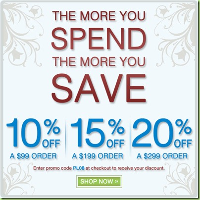 the more you spend