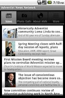 Screenshot of Adventist News Network