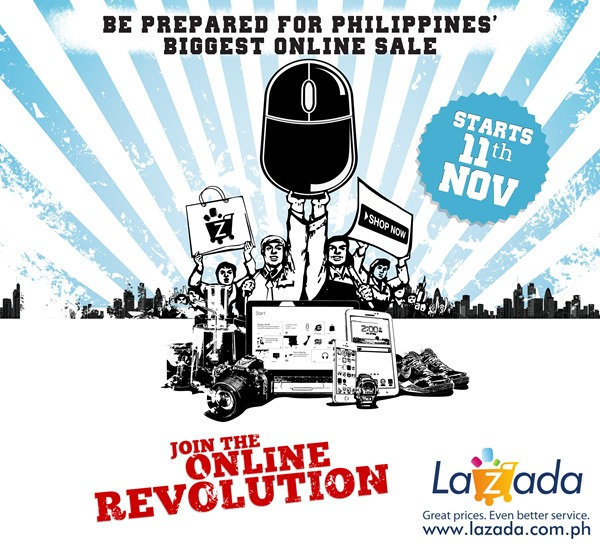 Lazada Philippines Online Revolution Sale